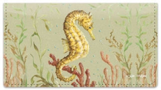 Click on McRostie Seahorse Checkbook Cover For More Details