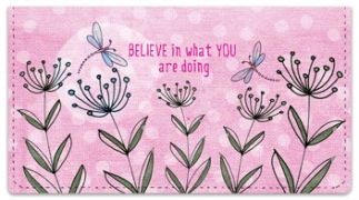 Click on Believe Checkbook Cover For More Details