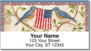 Click on McRostie Americana Address Labels For More Details