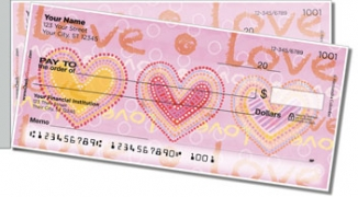 Click on Love Love Side Tear Personal Checks For More Details