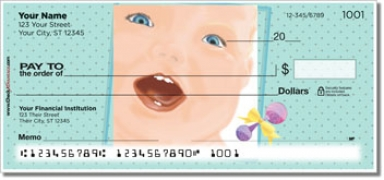Click on Cute Baby Personal Checks For More Details