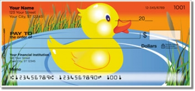 Click on Rubber Duck Personal Checks For More Details