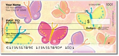 Click on Colombo Butterfly Personal Checks For More Details