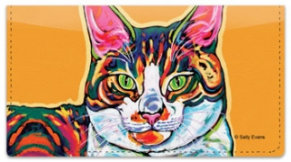Click on Evans Cat Checkbook Cover For More Details