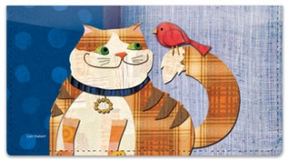 Click on Fat Cat Checkbook Cover For More Details