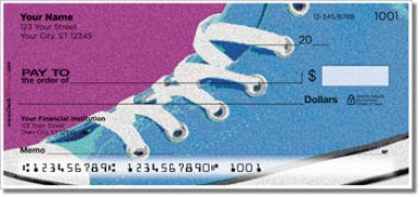 Click on Retro Shoes Personal Checks For More Details