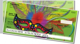 Click on Mardi Gras Side Tear Personal Checks For More Details