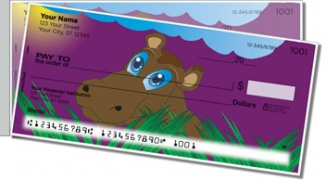 Click on Hungry Hippo Side Tear Personal Checks For More Details