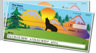 Click on Lone Wolf Side Tear Personal Checks For More Details