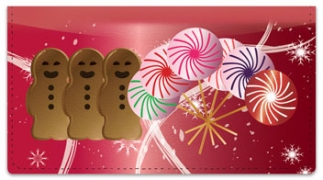 Click on Holiday Treat Checkbook Cover For More Details