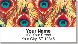 Click on Feather Frenzy Address Labels For More Details