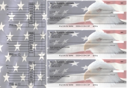 Click on American Flag Accounts Payable Designer Business Checks For More Details