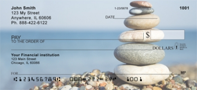 Click on Zen Stones in Nature Personal Checks For More Details