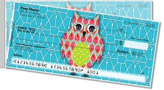 Click on Puma Colorful Owls Side Tear Personal Checks For More Details