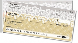 Click on Lace Border Side Tear Personal Checks For More Details
