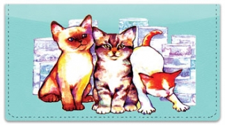 Click on Wat Cat Checkbook Covers For More Details