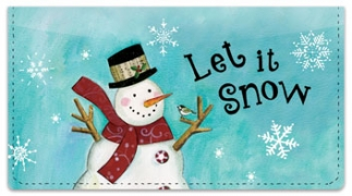 Click on Zipkin Snowmen Checkbook Covers For More Details