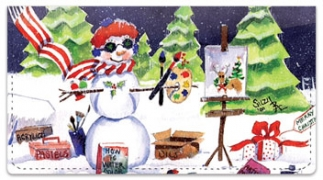 Click on Snow Artist Checkbook Covers For More Details