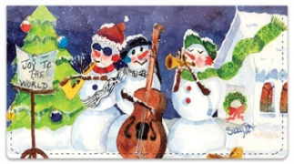 Click on Snow Musician Checkbook Covers For More Details