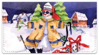 Click on Snow Worker Checkbook Covers For More Details
