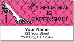 Click on Terri Puma Shoe Lover Address Labels For More Details
