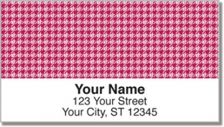 Click on Reed Houndstooth Address Labels For More Details
