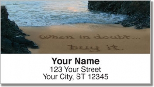 Click on Quote Sand Scribbles Address Labels For More Details