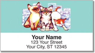 Click on Wat Cat Address Labels For More Details