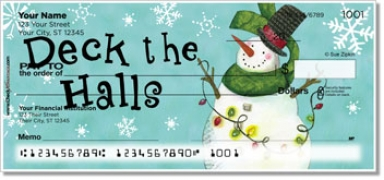 Click on Zipkin Snowmen Personal Checks For More Details