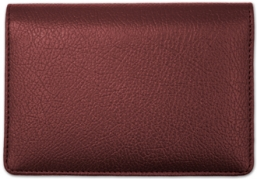 Click on Burgundy Leather Top Stub Cover For More Details