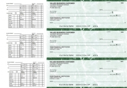 Learn more about Green Marble Payroll Business Checks