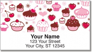 Click on Cupcake Shoppe Address Labels For More Details