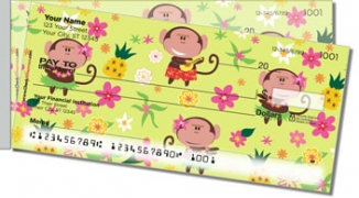 Click on Hula Monkey Side Tear Personal Checks For More Details
