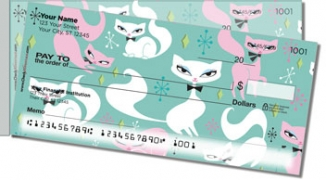Click on Swanky Kitten Side Tear Personal Checks For More Details
