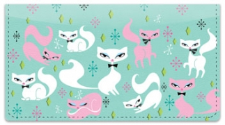 Click on Swanky Kitten Checkbook Cover For More Details