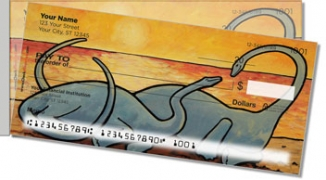 Click on Pacific Dinosaur Side Tear Personal Checks For More Details