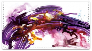 Click on Abstract Checkbook Cover For More Details