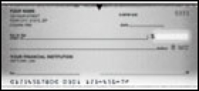 Vellum Side Tear - 1 box Personal Checks