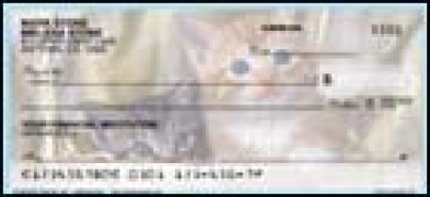 Click on Cute Kittens - 1 box Personal Checks For More Details
