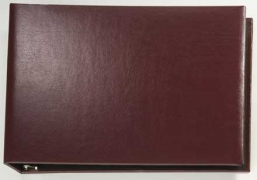 Learn more about Burgundy Binder - vinyl 7 Ring