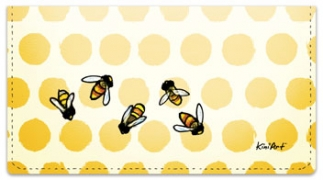 Click on Save the Bees Checkbook Cover For More Details