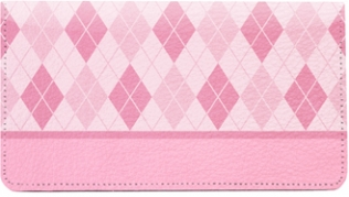 Click on Argyle Pink Leather Cover For More Details