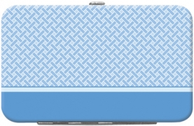 Click on Blue Safety Debit Mini Clutch For More Details