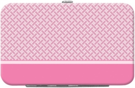Click on Pink Safety Debit Mini Clutch For More Details
