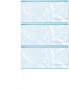 Click on Teal Marble Blank 3 Per Page Wallet Checks For More Details