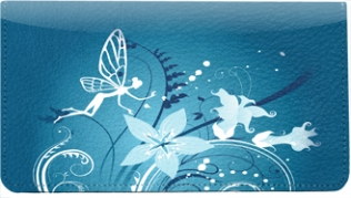 Click on Garden Fairies Leather Cover For More Details