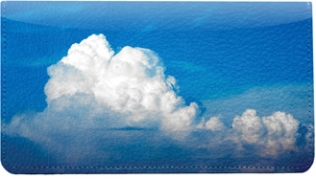 Click on Clouds in the Sky Leather Cover For More Details