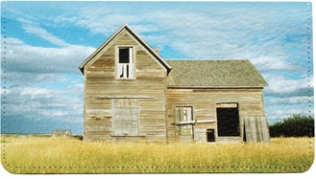 Click on Barns on the Prairie Leather Cover For More Details
