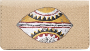 Click on African Shields Leather Cover For More Details