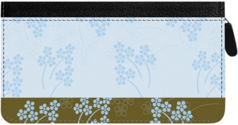 Click on Soft Vines Zippered Checkbook Cover For More Details